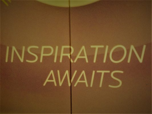 Inspiration Awaits