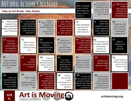 30 Ideas to Help You TAKE AN ART BREAK!